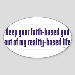 Keep Your Faith-Based Sticker