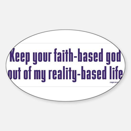 Keep Your Faith-Based Decal
