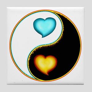 Simmering Love Yang Tile Coaster