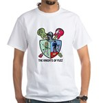 Knights Of Fuzz White T-Shirt