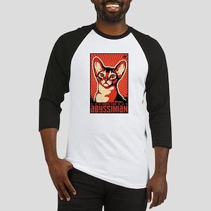 abyssinian_t-shirt Baseball Jersey