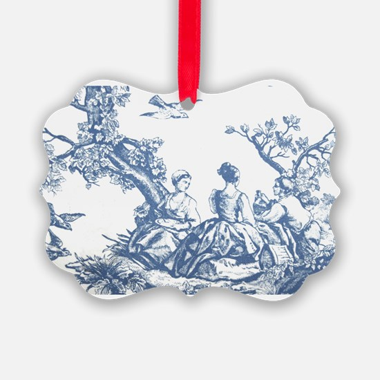 FRENCH TOILE Ornament