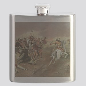 Vintage Native American Indians Flask