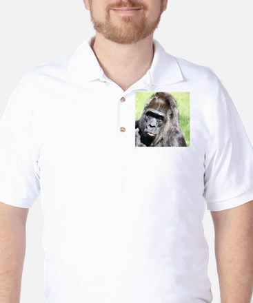 Kissing Monkey Golf Shirt