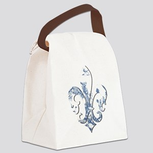FRENCH TOILE Canvas Lunch Bag