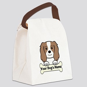 Personalized Cavalier Canvas Lunch Bag