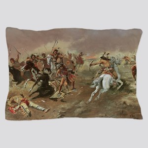 Vintage Native American Indians Pillow Case
