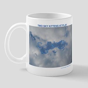 Sky Kittens at Play Mug