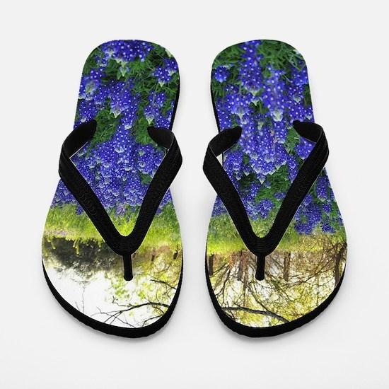 Cute Field flowers Flip Flops