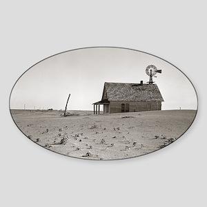 Dust Bowl Farm, 1938 Sticker