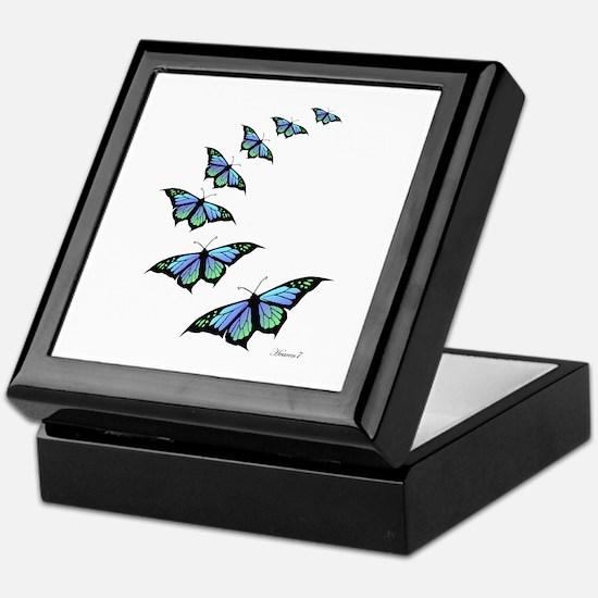Cute Butterfly Keepsake Box