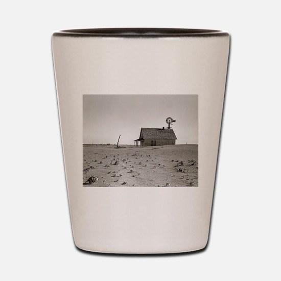 Cute Great depression Shot Glass