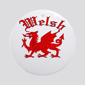 Welsh Ornament (Round)