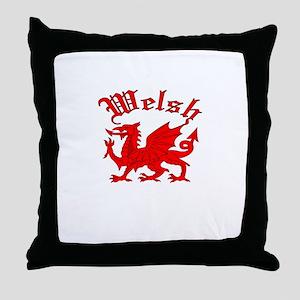 Welsh Throw Pillow