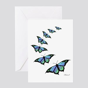 FLY AWAY Greeting Cards