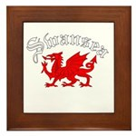 Swansea, Wales Framed Tile