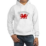 Swansea, Wales Hooded Sweatshirt