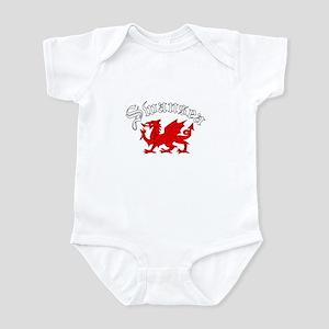 Swansea, Wales Infant Bodysuit