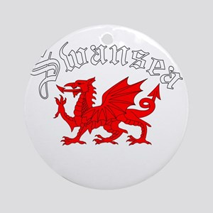 Swansea, Wales Ornament (Round)