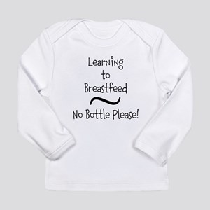 Learning to Breastfeed Long Sleeve T-Shirt