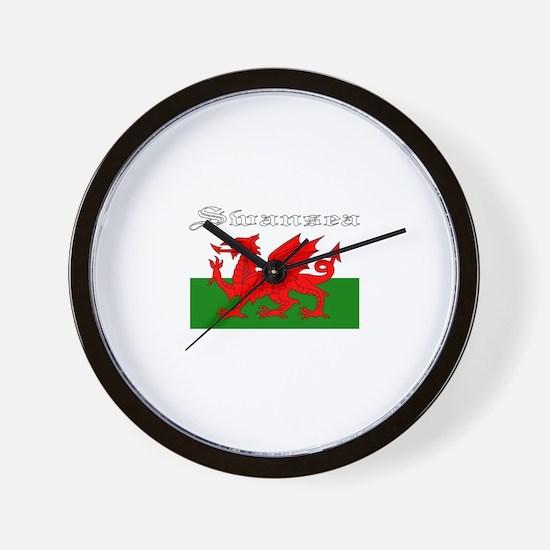 Swansea, Wales Wall Clock