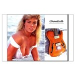 Vintage Rwg Girl Chantiell Large Poster