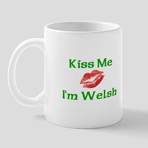 Kiss Me I'm Welsh Mug