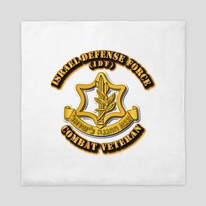 Israel Defense Force - Idf - Cbt Vet Queen Duvet