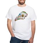 Rooster Sugar Skull T-Shirt
