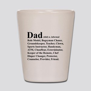 Dad definition Shot Glass