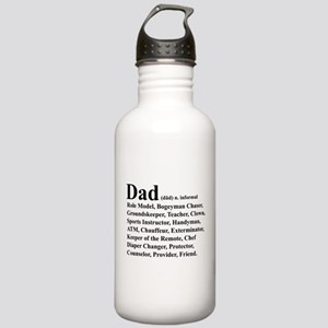 Dad definition Water Bottle