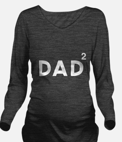 Dad of twins Long Sleeve Maternity T-Shirt