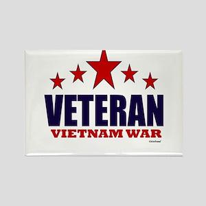Veteran Vietnam War Rectangle Magnet