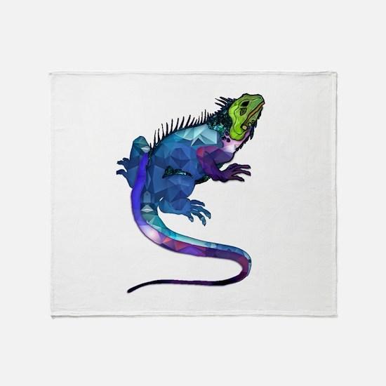 Unique Iguana Throw Blanket