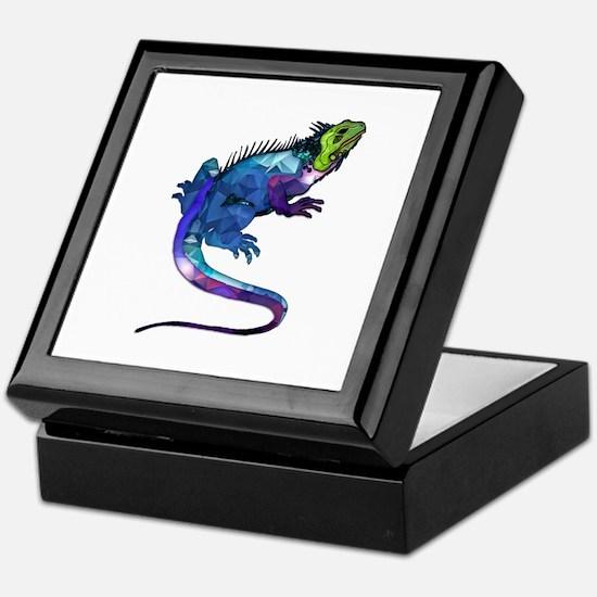 Cool Reptile Keepsake Box
