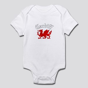 Cardiff, Wales Infant Bodysuit