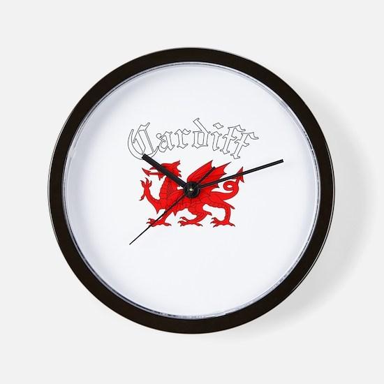 Cardiff, Wales Wall Clock