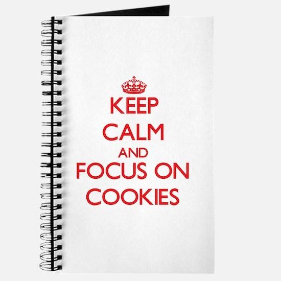 Cute I love cookies Journal