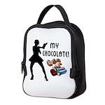 My Chocolate Neoprene Lunch Bag