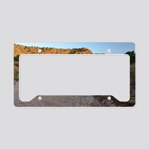 Dry Wash in Palo Duro Canyon License Plate Holder