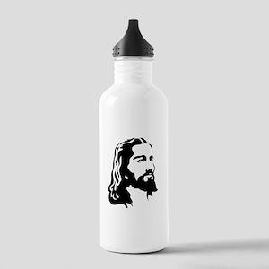 Jesus Face Water Bottle