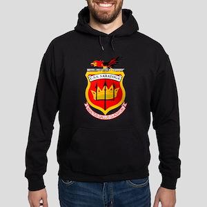 Personalized Uss Saratoga Cv-60 Hoodie (dark)
