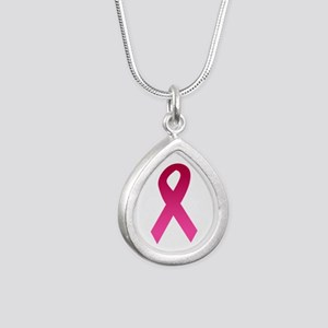 Breast Cancer Pink Ribbon Necklaces