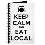 Keep Calm and Eat Local Journal
