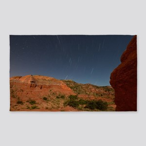 Star Trails Over Palo Duro Canyon 3'x5' Area Rug