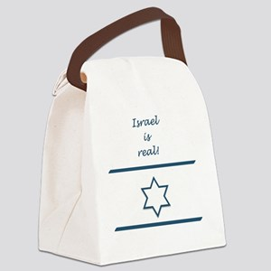Israel Is Real Canvas Lunch Bag