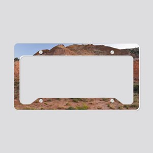 Palo Duro Canyon at Dusk License Plate Holder