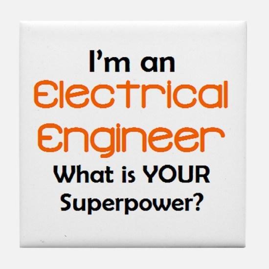 electrical engineer2 Tile Coaster