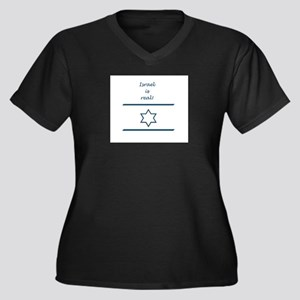 Israel Is Real Plus Size T-Shirt