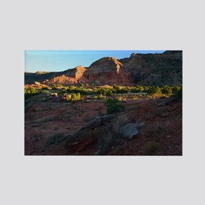 Morning Light at Palo Duro Rectangle Magnet
